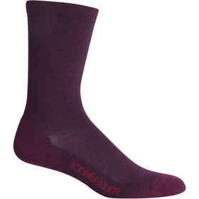 Icebreaker Lifestyle Light Crew Socks Damen velvet